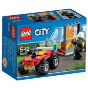 60105 Lego City ATV dei pompieri 5-12 anni