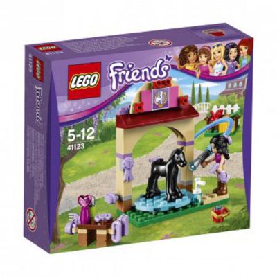 Lego friends 41123 la stazione di lavaggio del puledro