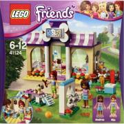 Leo friends 41124 il salone dei cuccioli di heartlake