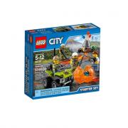 Lego 60120 starter set esplorazioni vulcaniche