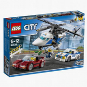 Inseguimento ad alta velocità lego city 60138