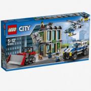 Rapina con il bulldozer lego city 60140