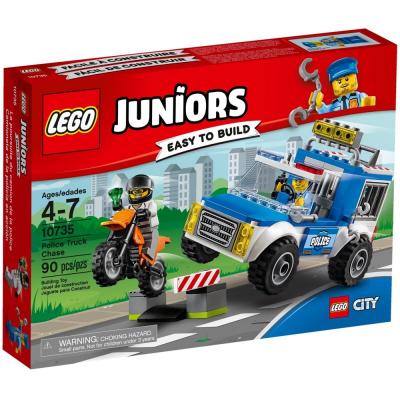 Inseguimento sul fuoristrada della Polizia 10735 lego juniors