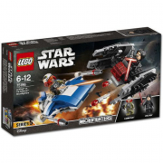 A-Wing™ contro Microfighter TIE Silencer™ 75196