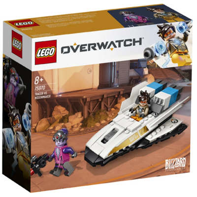 Tracer vs Widowmaker lego 75970