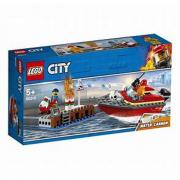 LEGO City Fire (60213) Incendio al porto