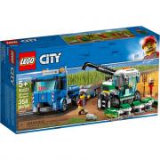 Lego City 60223 - Trasportatore di Mietitrebbia