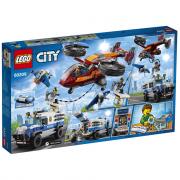 Lego Polizia Aerea: Furto Di Diamanti di Lego