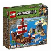 LEGO Minecraft (21152) Avventura sul galeone dei pirati