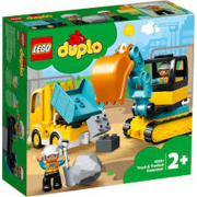 Lego Duplo Camion e scavatrice cingolata