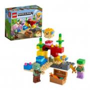 Lego mincraft- la barriera corallina