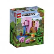 Lego Minencraft- La pig house