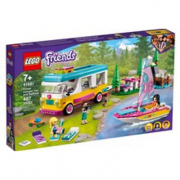 41681 Lego Friends Camper van nella foresta