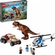 Lego Jurassic World- L?inseguimento del dinosauro Carnotaurus