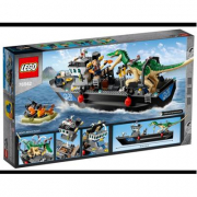 Lego Jurassic world- Fuga sulla barca dai dinosauri