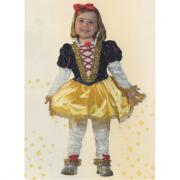 Biancaneve costume 2/3 anni