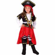 Corsarina costume 2/3 anni
