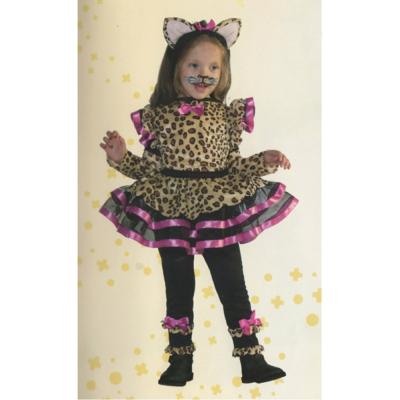 Little cat costume 2/3 anni