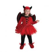 Costume diavoletta baby 1/2 anni
