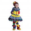 Clownetta costume 2/3 anni