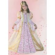 Principessa Camille costume 3/4 anni