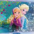 Quadro tela Frozen Anna e Elsa