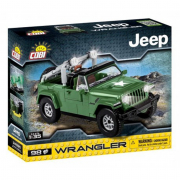Jeep wrangler military Cobi