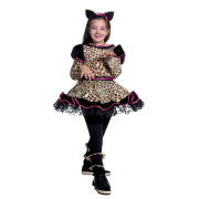 Leoparda costume 7/8 anni