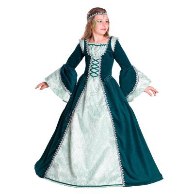 Costume Frozen vestito elsa frozen blu dimensioni 128 MSC