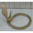 Cobra in legno cm. 83