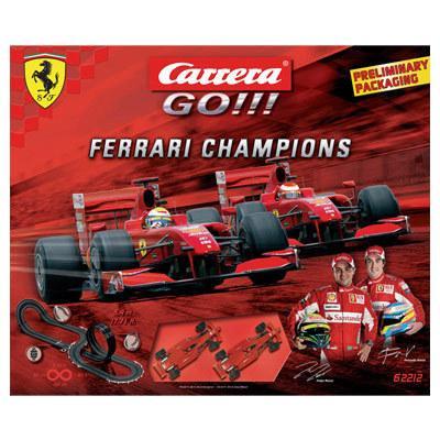 Pista Carrera GO!!! Ferrari Champions F1