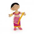 Bambola pezza indiana Swami cm. 30 Trudi