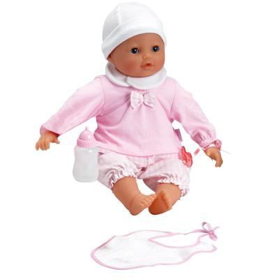 Testa girevole bambole VESTITI BAMBOLE Overall Rosa con strisce per 30-33 CM BAMBOLE