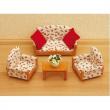 Set divano 3 pezzi Sylvanian Families