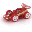 Auto in bambù rossa