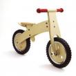 Bicicletta pedagogica senza pedali in legno