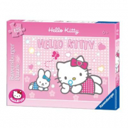 """Puzzle """"Hello Kitty Bolle di sapone"""" 125 pezzi"""