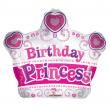 Palloncino Birthday Princess 46cm per gas elio