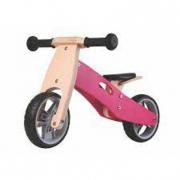 Bici in legno senza pedali- rosa