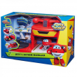 Super wings playset hangar di jett