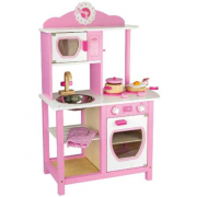 Cucina princess rosa in legno