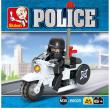 Moto polizia B0325 24pz