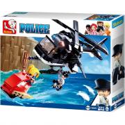 Sluban Police Elicottero e ladro