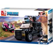 Camion di Swat della polizia