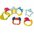Sonaglio anelli colorati