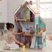 Casa delle bambole Juliette in legno