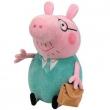 Peppa Pig peluche Papà Pig cm. 18