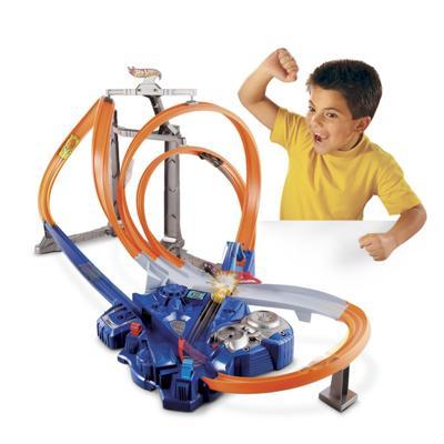 Pista hot wheels looping actionpark