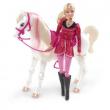 """Barbie e il suo Cavallo magico """"Lezione di equitazione"""""""