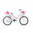 Bicicletta Lilly bianca bimba 681 MTB14